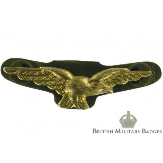 Royal Air Force Wings Officer's RAF Cap Badge - LUDLOW LONDON