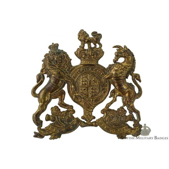 VICTORIAN Home Counties Reserve Regiment Cap Badge