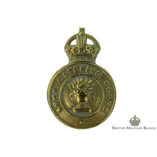 Army Catering Corps ACC Cap Badge - LUGGED VERSION
