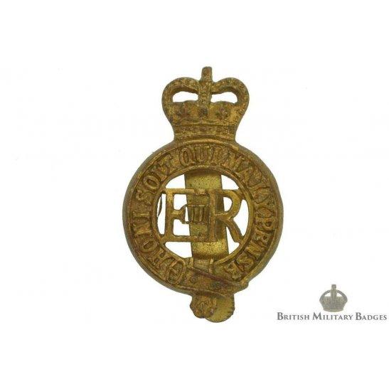 The Household Cavalry Regiment Cap Badge (Queens Crown)