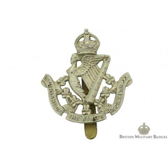 8th Irish Battalion King's Liverpool Regiment (Kings) Cap Badge