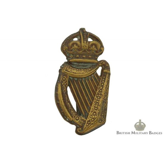 18th Irish Rifles Battalion County of London Regiment Cap Badge