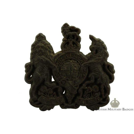 General Service Corps PLASTIC Cap Badge