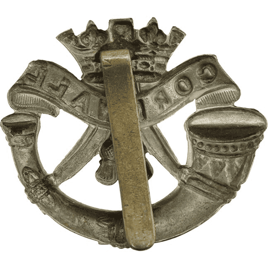 additional image for WW1 Duke of Cornwalls Light Infantry DCLI (Cornwall's) Regiment Cap Badge