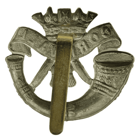 additional image for WW2 Duke of Cornwalls Light Infantry DCLI (Cornwall's) Regiment Cap Badge