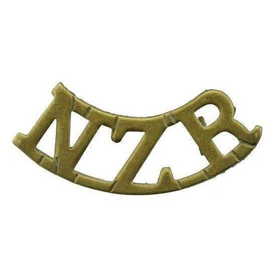 WW1 - WW2 New Zealand Army New Zealand Rifle Regiment NZR Shoulder Title
