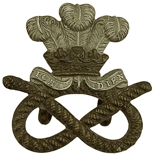 North Staffordshire North Staffordshire Regiment Collar Badge