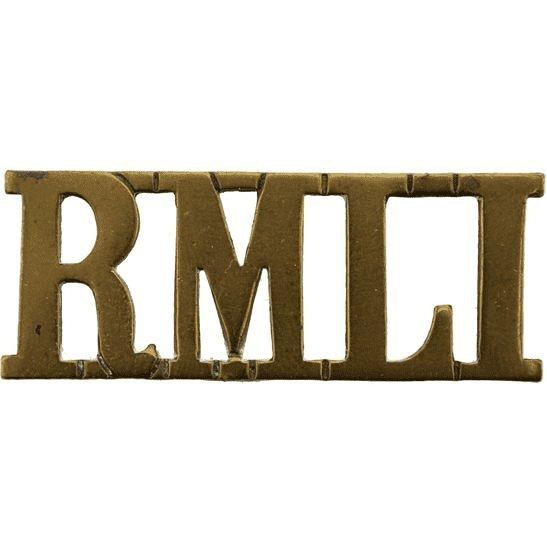 Royal Marine Light Infantry RMLI WW1 Royal Marine Light Infantry RMLI Regiment Shoulder Title