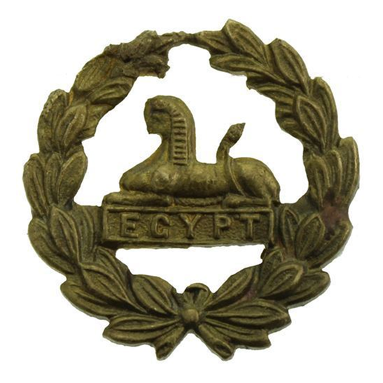 Gloucestershire Regiment WW1 Gloucestershire Regiment REAR / BACK Cap Badge
