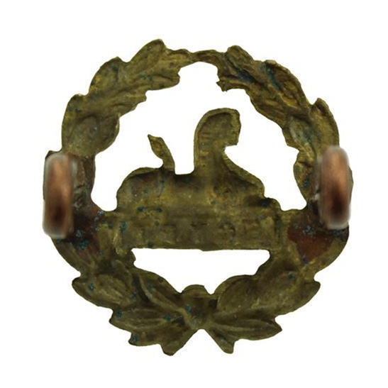 additional image for WW1 Gloucestershire Regiment REAR / BACK Cap Badge