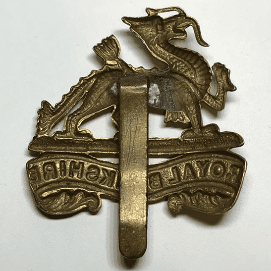 additional image for Royal Berkshire Regiment Cap Badge