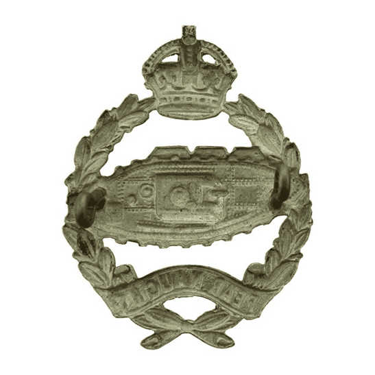 additional image for WW2 Royal Tank Regiment Cap Badge