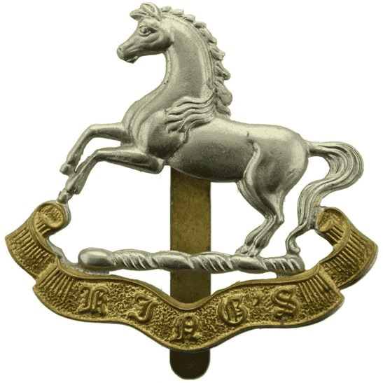 Kings Liverpool WW2 Kings Liverpool Regiment (King's) Cap Badge