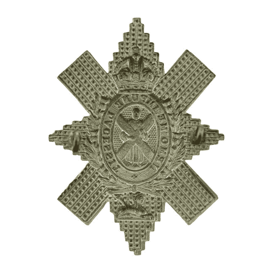 additional image for WW2 Royal Highland (Black Watch) Regiment Cap Badge