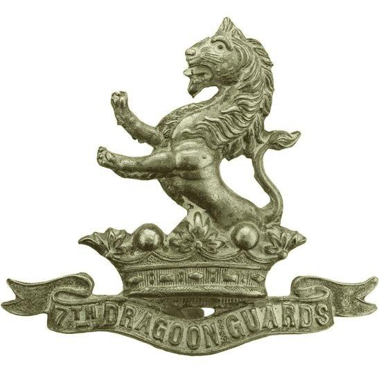 7th Dragoon Guards 7th Dragoon Guards Regiment Cap Badge