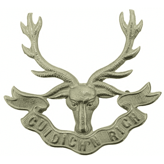 Seaforth Highlanders WW2 Seaforth Highlanders Regiment Cap Badge 2X LUGS VERSION