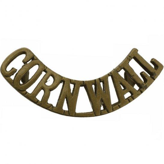 Duke of Cornwalls Light Infantry DCLI Duke of Cornwalls Light Infantry Regiment (Cornwall's) Shoulder Title