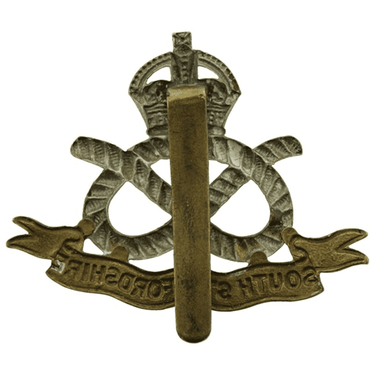 additional image for WW1 South Staffordshire Regiment Cap Badge