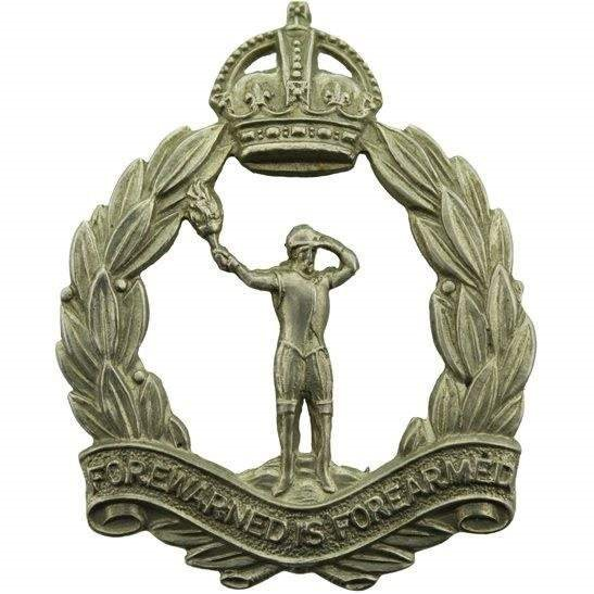 Royal Observer Corps WW2 Royal Observer Corps ROC Cap Badge