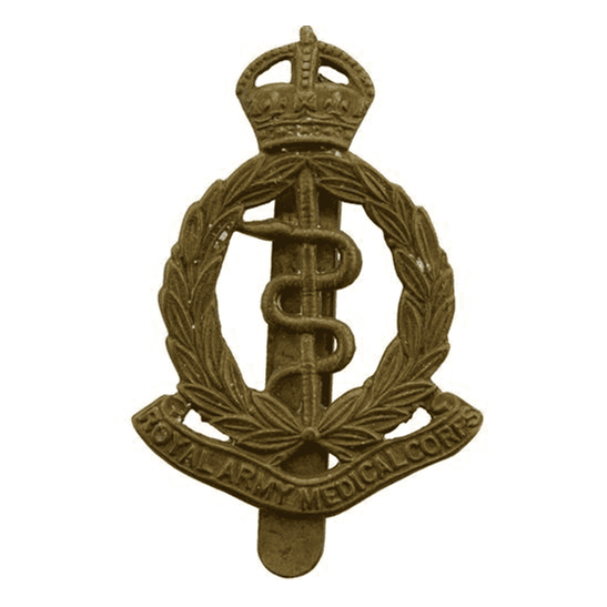 Royal Army Medical Corps RAMC WW1 Royal Army Medical Corps RAMC Cap Badge