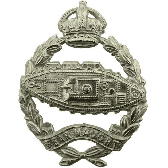 Royal Tank Regiment WW2 Royal Tank Regiment Cap Badge