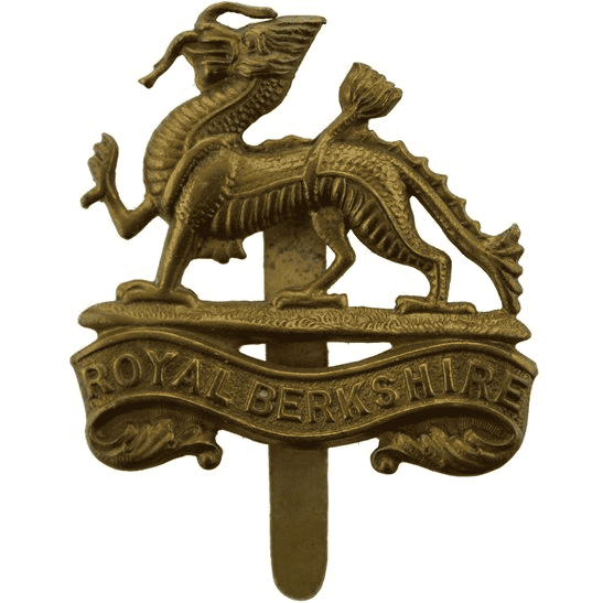 Royal Berkshire WW1 Royal Berkshire Regiment Cap Badge