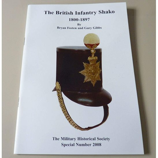 British Infantry Shako 1800-1897 Reference Book & Helmet Plate Badges Guide