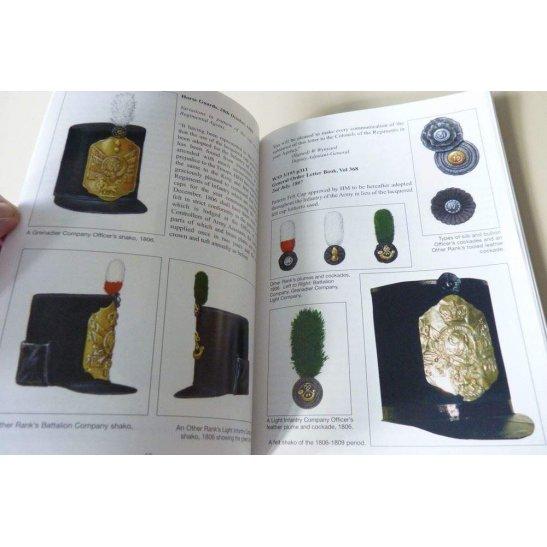 additional image for British Infantry Shako 1800-1897 Reference Book & Helmet Plate Badges Guide