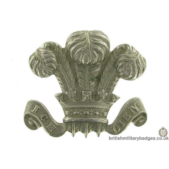 10th Royal Hussars Regiment Collar Badge