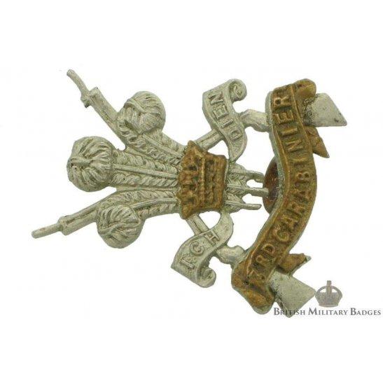 3rd Carabiniers Regiment Collar Badge