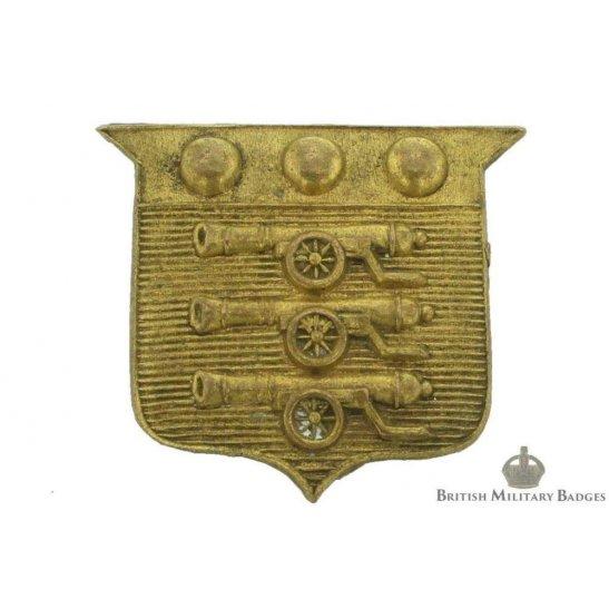 Army Ordnance Corps AOC Collar Badge
