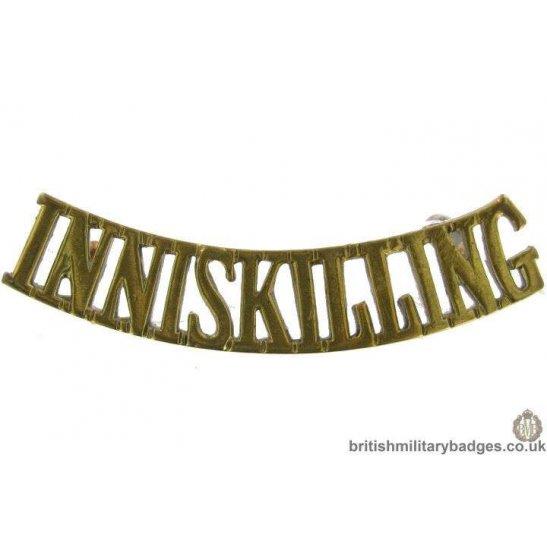 6th Inniskilling Dragoons Regiment Shoulder Title