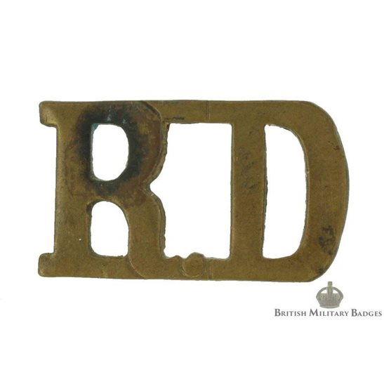 1st Royal Dragoons Regiment Shoulder Title