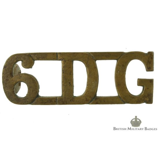 6th Dragoon Guards (The Carabiniers) Regiment 6DG Shoulder Title