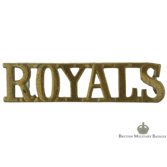 1st, The Royal Dragoons Regiment Shoulder Title