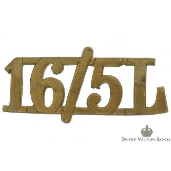 16th/5th The Queen's Royal Lancers Regiment Shoulder Title