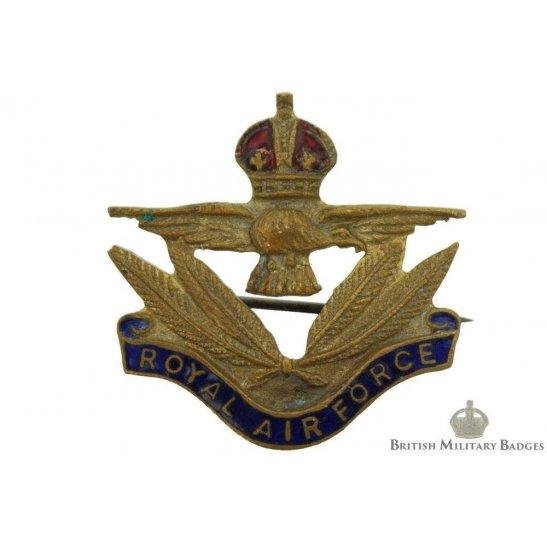 Royal Air Force RAF Wings Sweetheart Brooch