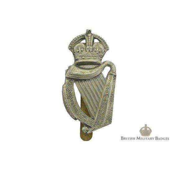 18th Irish Rifles Battalion County of London Regiment Cap Badge