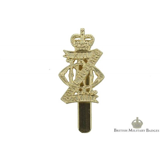 13th / 18th Royal Hussars Regiment Staybrite Cap Badge