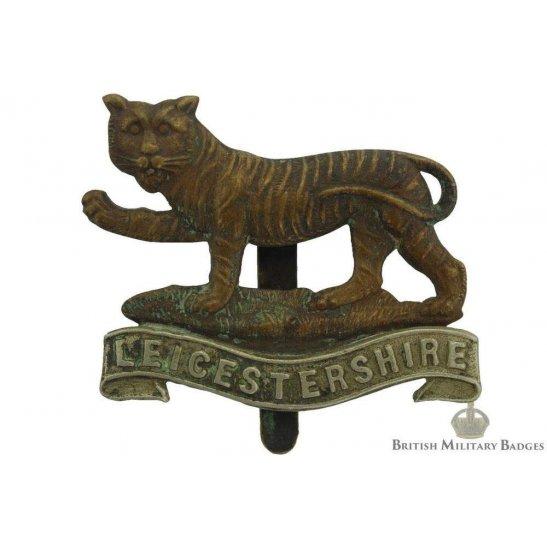 4th 5th & 6th Territorial Battalions, Leicestershire Regiment Cap Badge