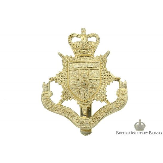 University of London OTC (Officers Training Corps) Staybrite Cap Badge