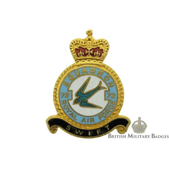additional image for 72 Squadron Royal Air Force Lapel Badge RAF