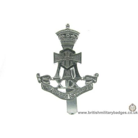 F1A/83 - The Green Howards Regiment Staybrite Cap Badge