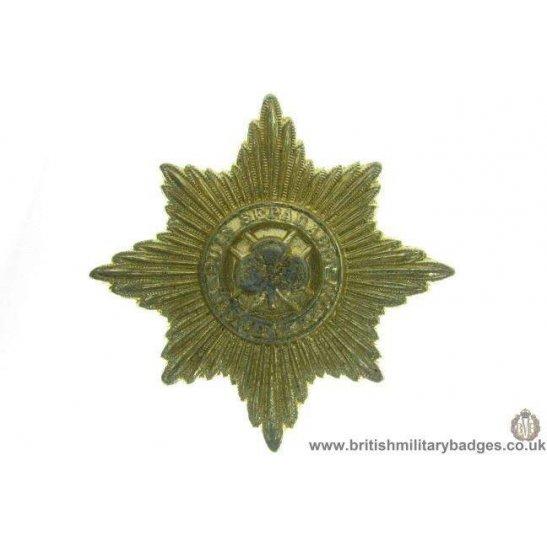 F1A/90 - Irish Guards Regiment Staybrite Cap Badge