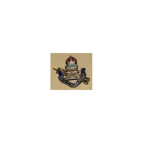 CC09/051 - Royal Artillery Sweetheart Brooch