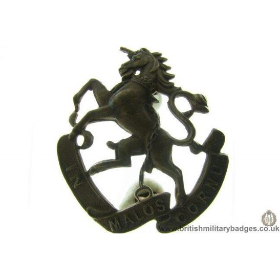 B1A/12 - 9th Mississauga Horse Canadian Collar Badge