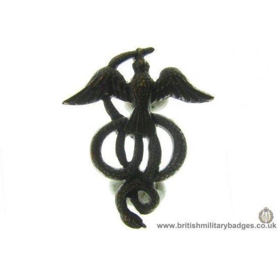 B1A/18 - UNKNOWN Medical? RAF? American? Regiment Collar Badge