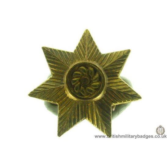 B1A/28 - East Yorkshire Regiment Collar Badge