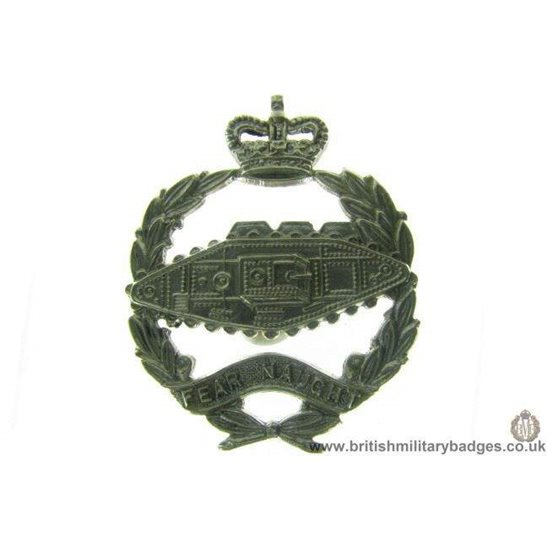 B1A/67 - Royal Tank Regiment Corps QC Collar Badge