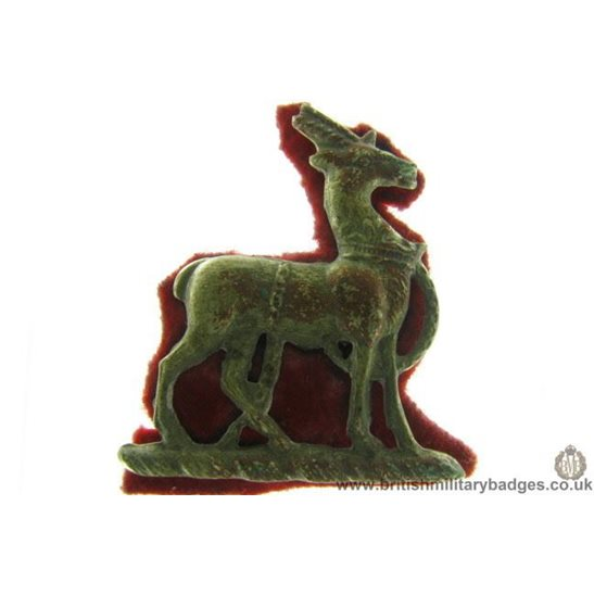 B1A/78 - Royal Warwickshire Regiment Collar Badge
